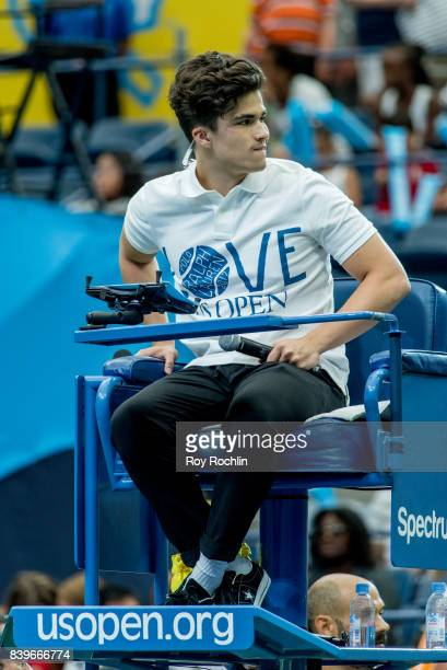 Co host Alex Aiono attends the 22nd Annual Arthur Ashe Kids' Day at USTA Billie Jean King National Tennis Center on August 26 2017 in the Queens...