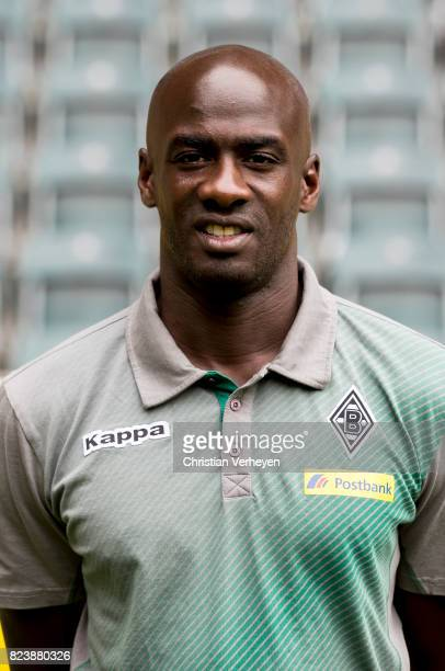 Co Trainer Otto Addo pose during the team presentation of Borussia Moenchengladbach at BorussiaPark on July 28 2017 in Moenchengladbach Germany