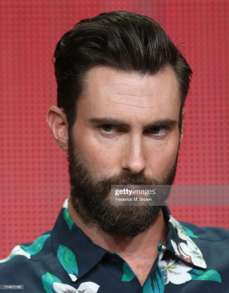Coach <a gi-track='captionPersonalityLinkClicked' href=/galleries/search?phrase=Adam+Levine+-+Cantor&family=editorial&specificpeople=202962 ng-click='$event.stopPropagation()'>Adam Levine</a> speaks onstage during 'The Voice' panel discussion at the NBC portion of the 2013 Summer Television Critics Association tour - Day 4 at the Beverly Hilton Hotel on July 27, 2013 in Beverly Hills, California.