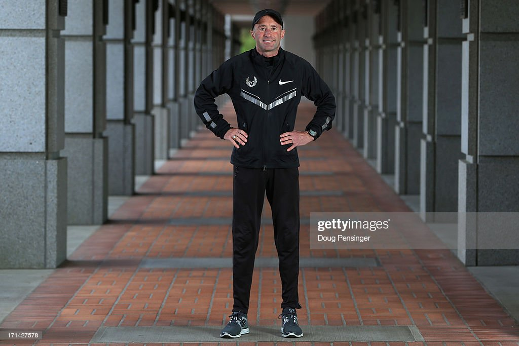 Coach <a gi-track='captionPersonalityLinkClicked' href=/galleries/search?phrase=Alberto+Salazar&family=editorial&specificpeople=3459884 ng-click='$event.stopPropagation()'>Alberto Salazar</a> of the Nike Oregon Project poses for a portrait on the Nike campus on April 13, 2013 in Beaverton, Oregon.