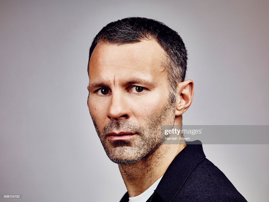 Coach and footballing legend Ryan Giggs is photographed for ES magazine on December 16, 2014 in London, England.