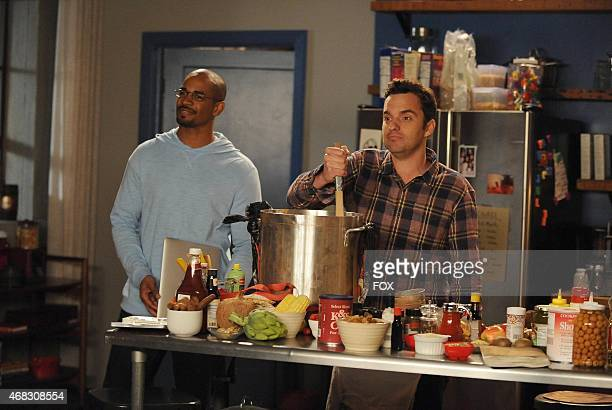 Coach and Nick are forced to stay in the loft and go on a spider hunt in the 'Spiderhunt' episode of NEW GIRL airing Tuesday Feb 24 on FOX