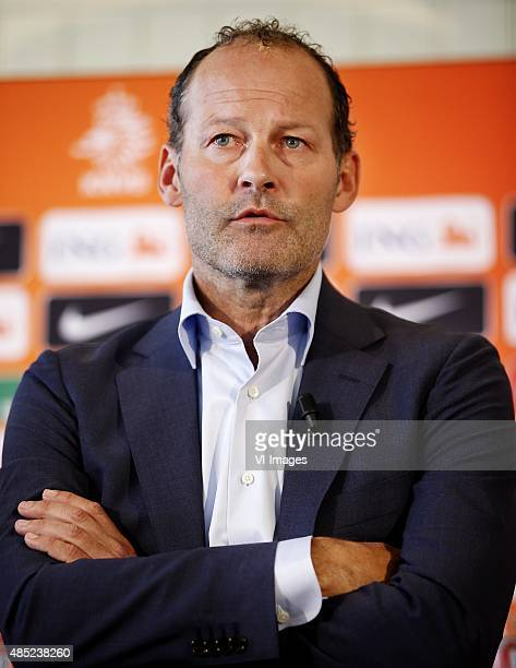 coach Danny Blind during the presentation of the new technical staff of the Netherlands National soccer team on August 20 2015 at Noordwijk The...