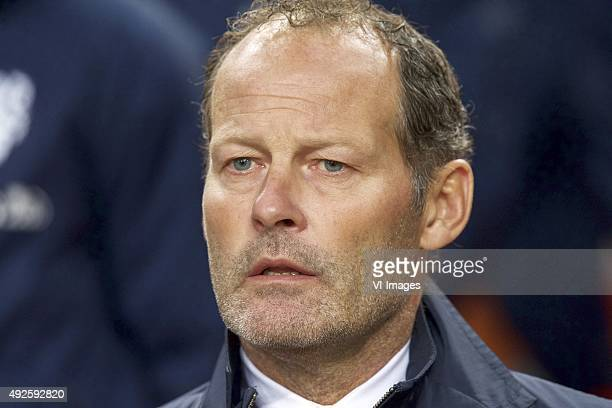 coach Danny Blind of Holland during the EURO 2016 qualifying match between Netherlands and Czech Republic on October 10 2015 at the Amsterdam Arena...