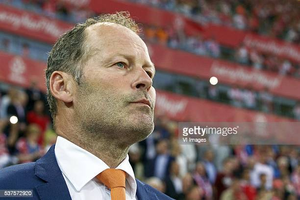 coach Danny Blind of Holland during the International friendly match between Poland and Netherlands on June 1 2016 at the Gdansk Arena in Gdansk...