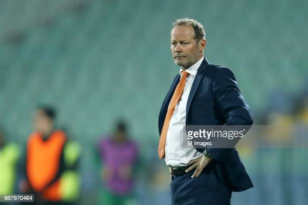 coach Danny Blind of Hollandduring the FIFA World Cup 2018 qualifying match between Bulgaria and Netherlands on March 25 2017 at Vasil Levski...