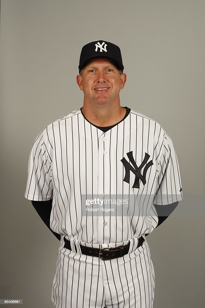 Coach Dave Eiland of the New York Yankees poses during Photo Day on Thursday, February 19, 2009 at Steinbrenner Field in Tampa, Florida.