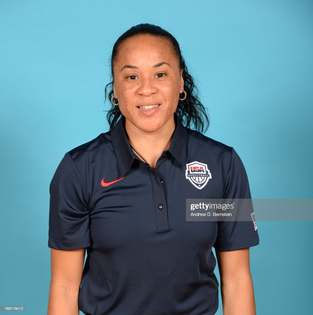 Coach Dawn Staley poses for a head shot during the USA Womens National Team Mini-Camp on October 4, 2013 at the Cox Pavilion in Las Vegas, Nevada.