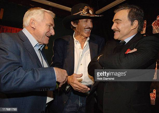 Coach Dean Smith Richard Petty and Burt Reynolds