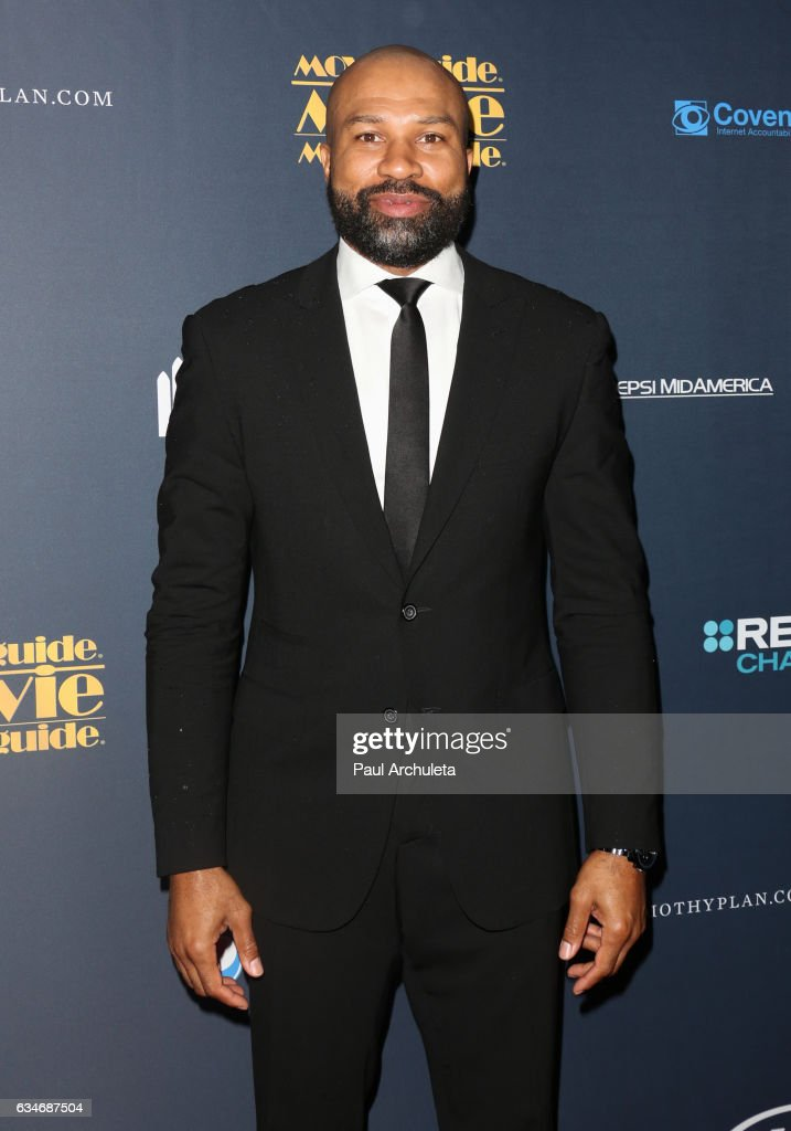 Coach Derek Fisher attends the 25th Annual Movieguide Awards at Universal Hilton Hotel on February 10, 2017 in Universal City, California.