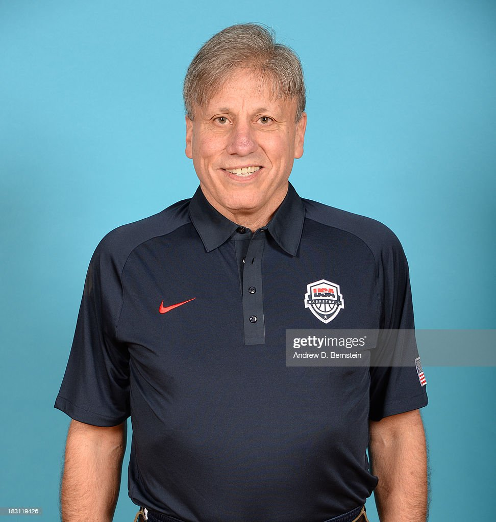 Coach Doug Bruno poses for a head shot during the USA Womens National Team Mini-Camp on October 4, 2013 at the Cox Pavilion in Las Vegas, Nevada.