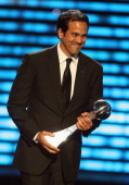 NBA coach Erik Spoelstra accepts the award for Best Game onstage at The 2013 ESPY Awards at Nokia Theatre LA Live on July 17 2013 in Los Angeles...