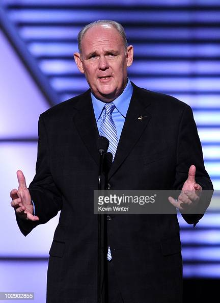 NBA coach George Karl speaks onstage during the 2010 ESPY Awards at Nokia Theatre LA Live on July 14 2010 in Los Angeles California