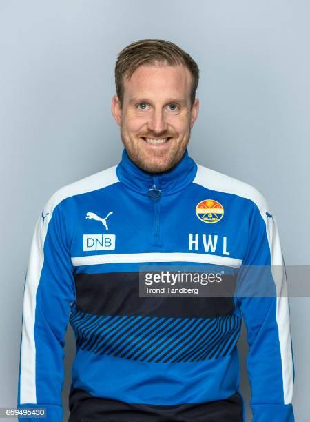 Coach Haakon Wibe Lund of Team Stromsgodset Fotballklubb during Photocall on March 17 2017 in Drammen Norway
