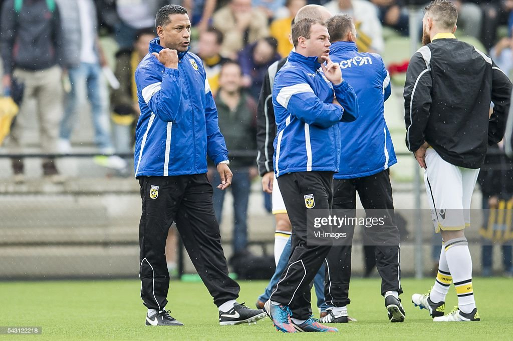 coach Henk Fraser of Vitesse cancelled the training during the first training session of the season 2016/2017 on June 26, 2016 at Papendal, The Netherlands