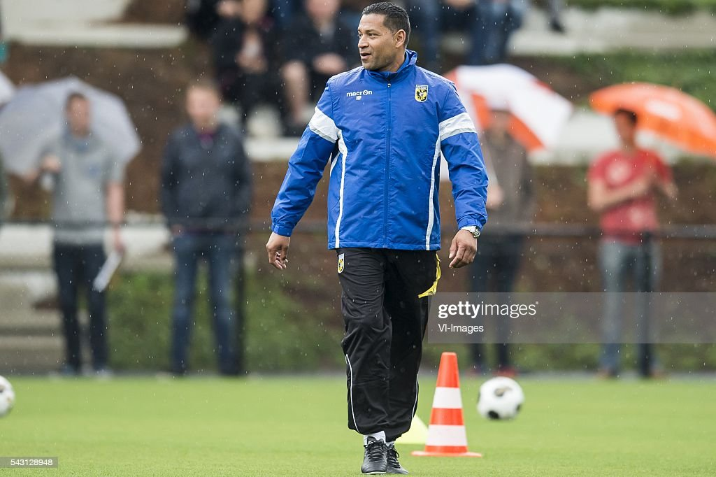 coach Henk Fraser of Vitesse during the first training session of the season 2016/2017 on June 26, 2016 at Papendal, The Netherlands