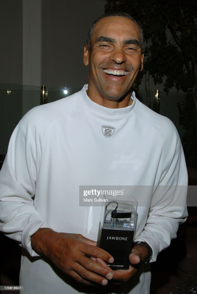 NFL coach Herman Edwards attends Backstage Creations at 2008 American Century Championship July 9 2008 at Harrahs Lake Tahoe in Lake Tahoe Nevada
