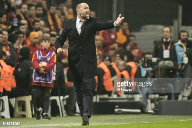 coach Igor Tudor of Galatasarayduring the Turkish Spor Toto Super Lig football match between Galatasaray SK and Besiktas JK on February 27 2017 at...