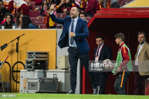 coach Igor Tudor of Galatasarayduring the Turkish Spor Toto Super Lig football match between Galatasaray SK and Osmanlispor FK on May 19 2017 at the...