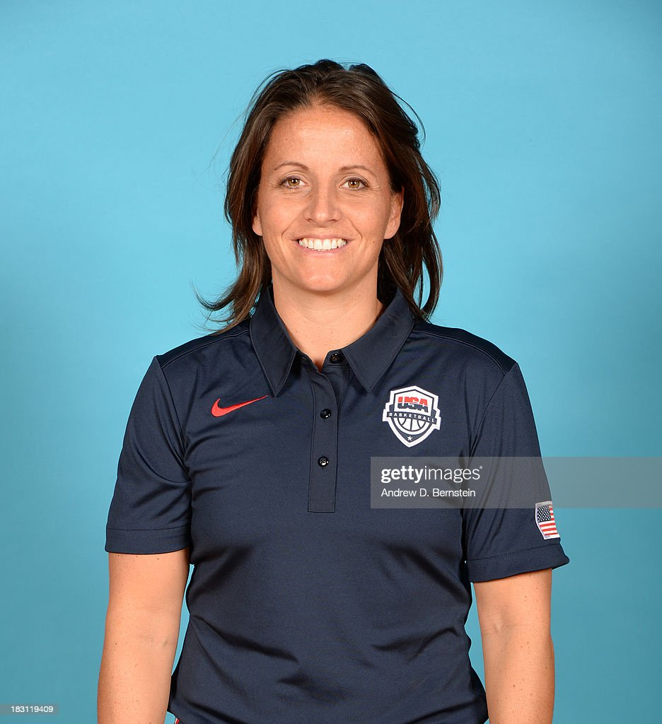 Coach Jen Rizzotti poses for a head shot during the USA Womens National Team Mini-Camp on October 4, 2013 at the Cox Pavilion in Las Vegas, Nevada.