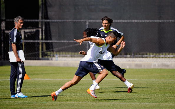 Real Madrid Pre-Season Training Session and Press Conference : News Photo