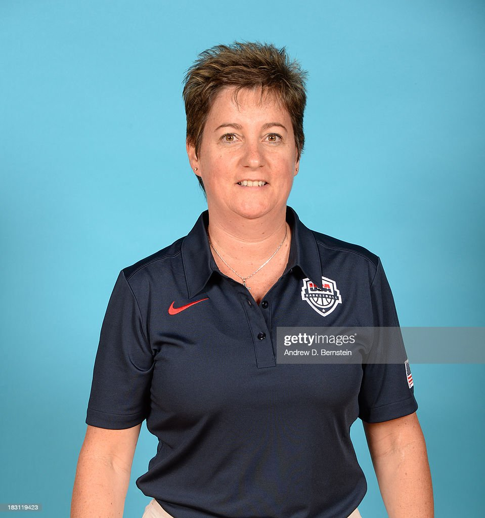 Coach Lisa White poses for a head shot during the USA Womens National Team Mini-Camp on October 4, 2013 at the Cox Pavilion in Las Vegas, Nevada.