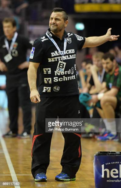 coach Ljubomir Vranjes of SG FlensburgHandewitt during the game between Fuechse Berlin against SG FlensburgHandewitt on february 1 2017 in Berlin...