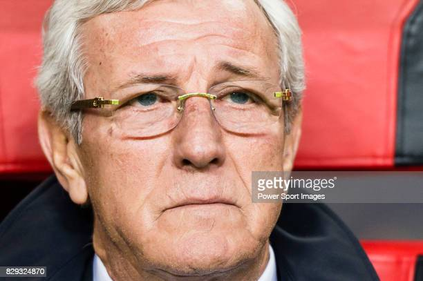 Coach Marcello Lippi of China PR prior to the 2018 FIFA World Cup Russia Final Qualification Round Group A match between China PR and Korea Republic...