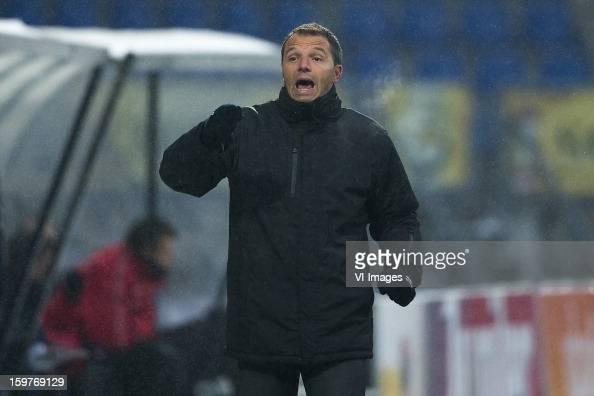 Coach Maurice Steijn of ADO Den Haag during the Dutch Eredivise match between Willem II and ADO Den Haag at the Koning Willem II Stadium on January...