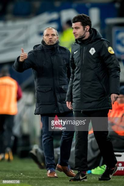 coach Maurice Steijn of VVV Erwin Blank during the Dutch Eredivisie match between sc Heerenveen and VVV Venlo at Abe Lenstra Stadium on December 09...