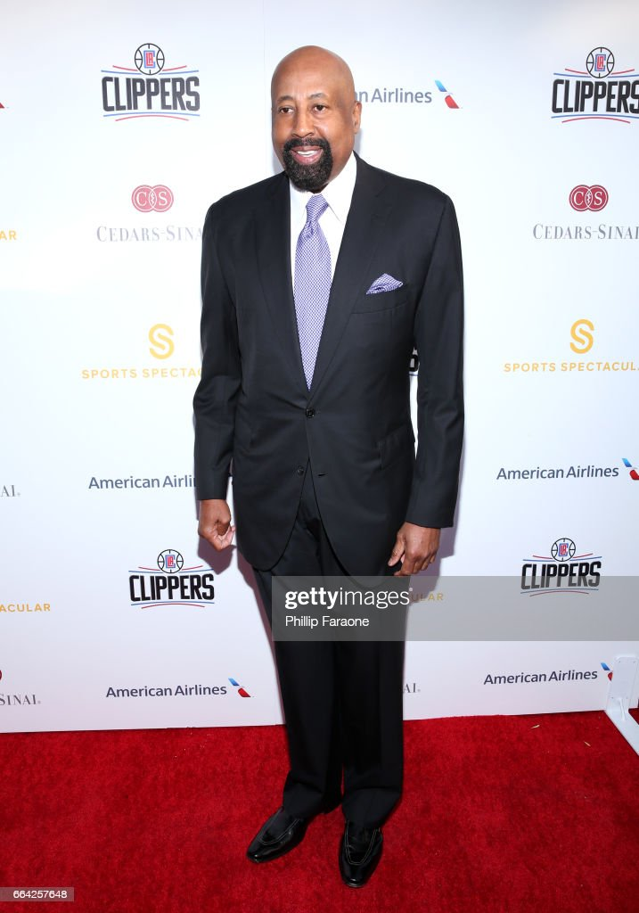 NBA coach Mike Woodson attends 32nd Annual Cedars-Sinai Sports Spectacular at W Los Angeles - Westwood on April 3, 2017 in Los Angeles, California.
