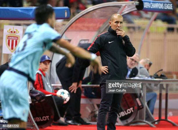 Coach of Monaco Leonardo Jardim during the UEFA Champions League group G match between AS Monaco and FC Porto at Stade Louis II on September 26 2017...