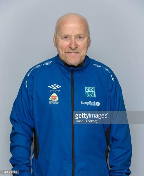 Coach Ole Olsen of Team Kristiansund BK on March 7 2017 in Kristiansund Norway