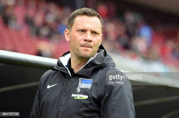 coach Pal Dardai of Hertha BSC before the game between dem 1 FC Koeln and Hertha BSC on march 18 2017 in Koeln Germany