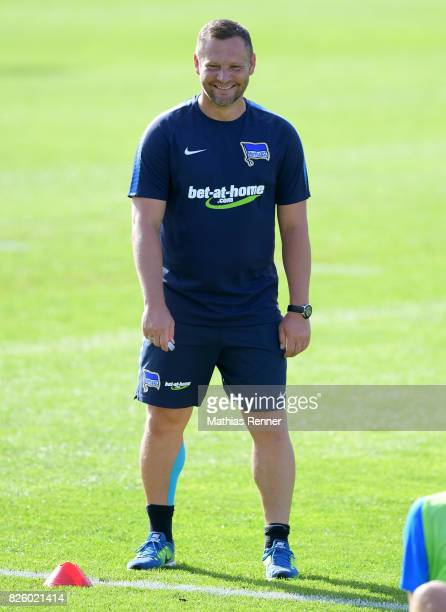 coach Pal Dardai of Hertha BSC during the training camp on august 3 2017 in Schladming Austria