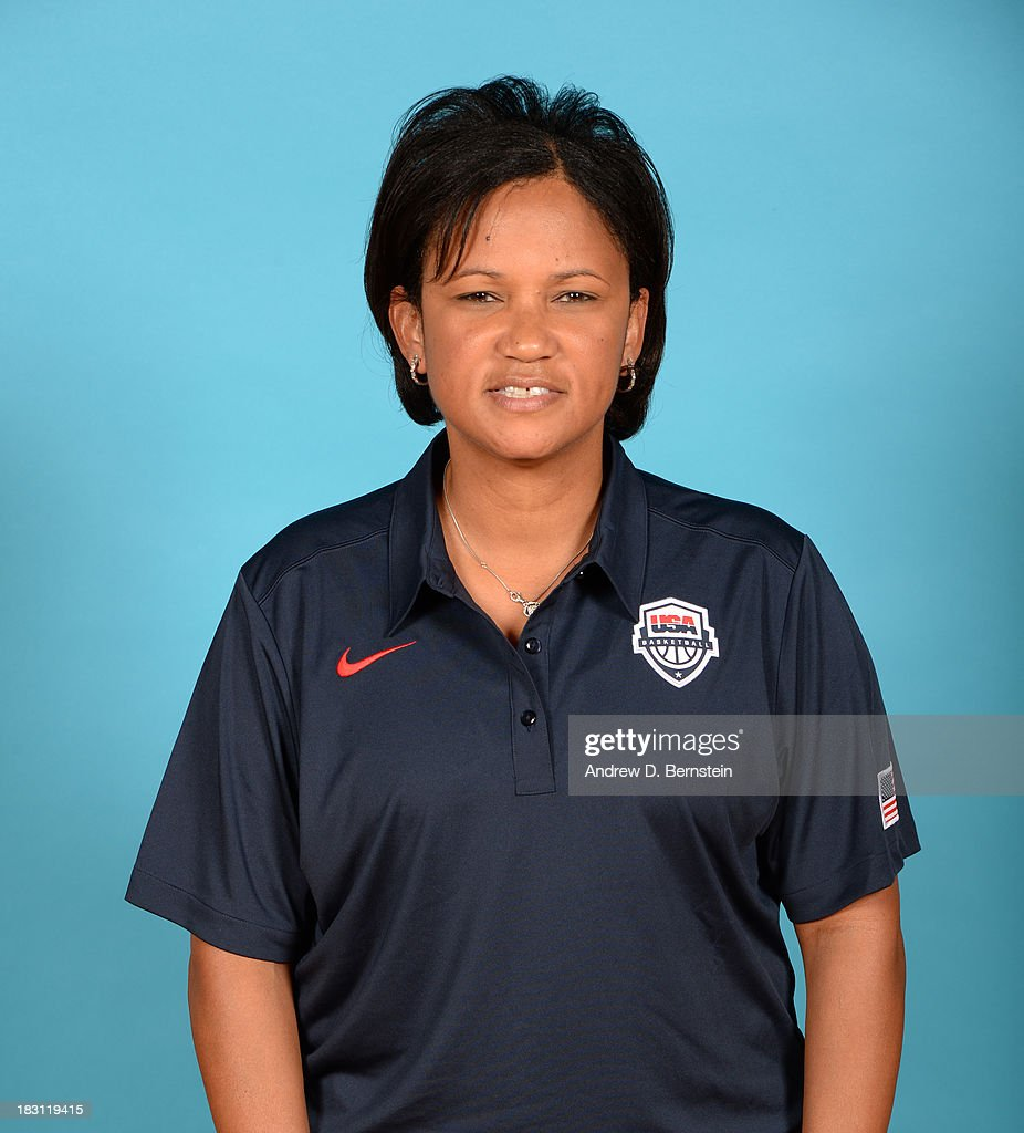 Coach Pokey Chatman poses for a head shot during the USA Womens National Team Mini-Camp on October 4, 2013 at the Cox Pavilion in Las Vegas, Nevada.