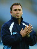 NSW coach Ricky Stuart looks on during the NSW Blues training session at Telstra Stadium on June 14 2005 in Canberra Australia