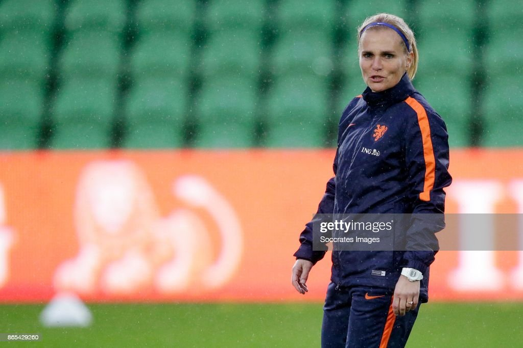 Netherlands Women Football Training