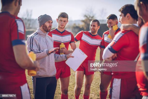 Coach talking strategy