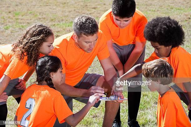 コーチ、お子様向けのスポーツチーム