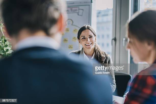 Coaching a couple in office