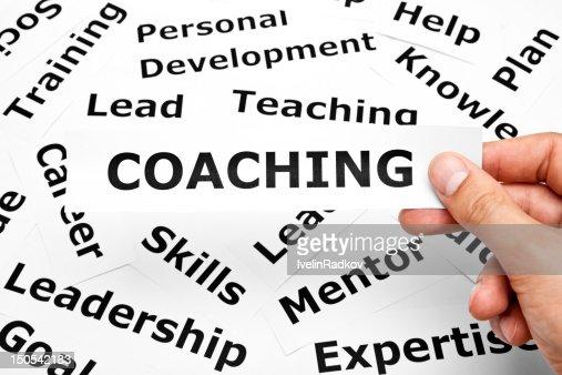 Coaching concept : Stock Photo