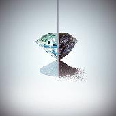 coal and diamond metamorphosis