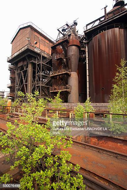 Coal And Steel Plant, North-Duisburg Park, Ruhr Region, Germany