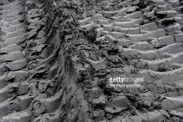Coal ash from pond E is deposited at pond D at Possum Point Power Station in Dumfries Va on June 26 2015 Coal ash Pond D is where Dominion Resources...