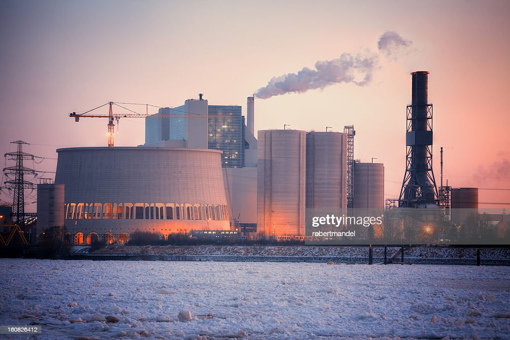 Coal fired power plant : Stock Photo