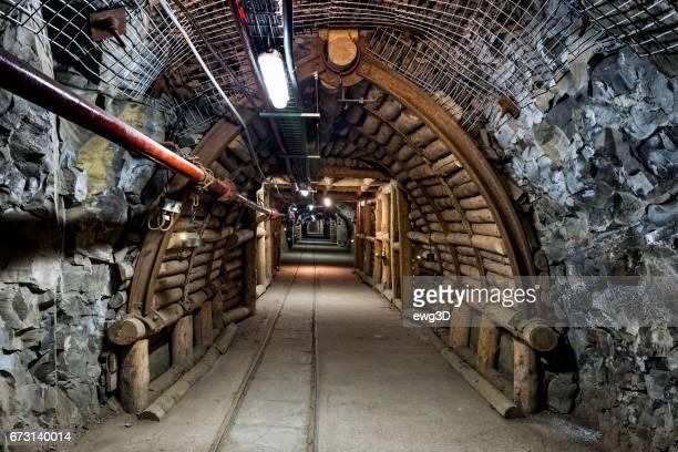 Coal mine underground corridor