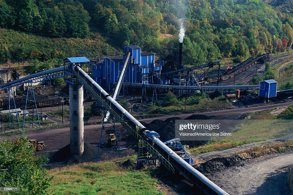 Coal mine, West Virginia : Stock Photo