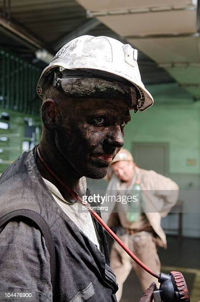 A coal miner poses for a photograph after finishing his shift at the OKD AS Darkov mine in Ostrava Czech Republic on Friday Sept 24 2010 New World...