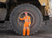 Coal Miner With Digger